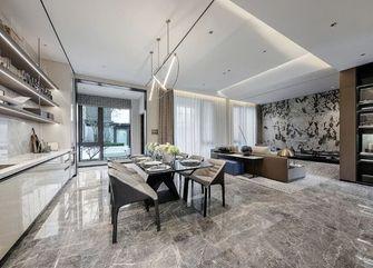 140平米别墅现代简约风格餐厅设计图