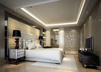 100平米三室一厅现代简约风格卧室背景墙图片