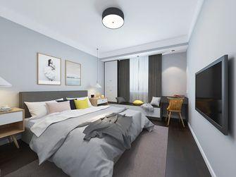 120平米三室一厅混搭风格卧室图