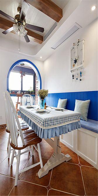 90平米四地中海风格餐厅装修图片大全