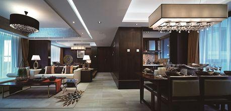 80平米东南亚风格客厅装修案例