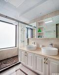120平米三室一厅欧式风格卫生间装修图片大全