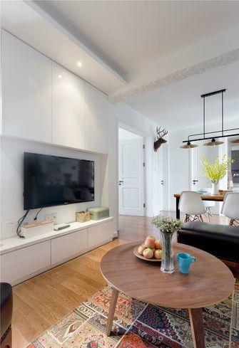 90平米三田园风格客厅装修案例