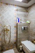 60平米公寓法式风格卫生间装修案例