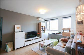 70平米公寓现代简约风格客厅沙发图片
