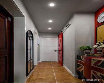110平米三室三厅混搭风格走廊图片