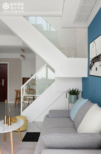 60平米复式宜家风格楼梯间设计图