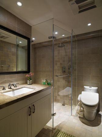 90平米四室一厅地中海风格卫生间设计图