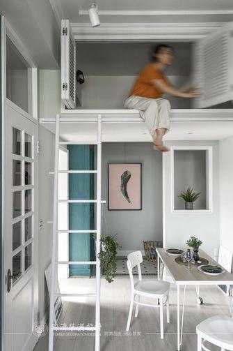 100平米复式北欧风格楼梯间图片大全