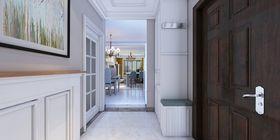 130平米三室兩廳美式風格玄關裝修效果圖