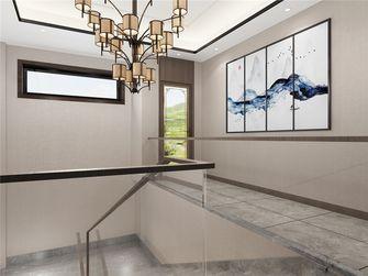 140平米三中式风格楼梯间设计图