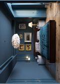 60平米一居室地中海风格卧室图片