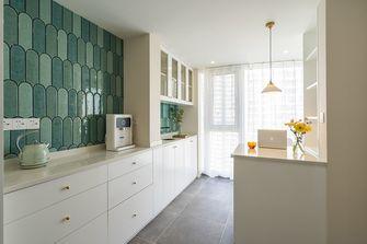 130平米三室两厅日式风格厨房效果图
