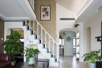 15-20万120平米复式田园风格楼梯间装修图片大全
