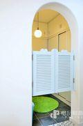 110平米三地中海风格储藏室装修图片大全