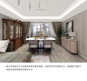 140平米三室一厅欧式风格餐厅装修案例