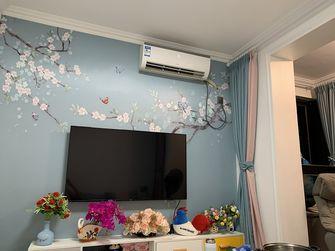 60平米三室一厅宜家风格客厅装修效果图