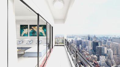 80平米三欧式风格阳台装修效果图