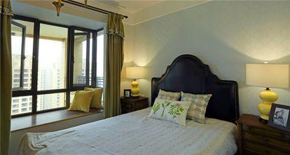 140平米三室三厅美式风格卧室图