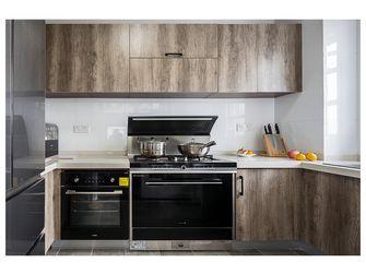 经济型110平米四室两厅英伦风格厨房设计图
