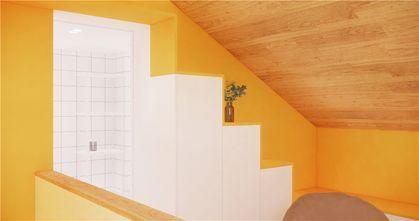 60平米一居室日式风格楼梯间图