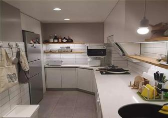 70平米一居室现代简约风格厨房装修图片大全