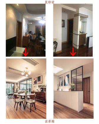 豪华型130平米三室两厅现代简约风格餐厅图