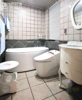 120平米三室两厅地中海风格卫生间浴室柜图片