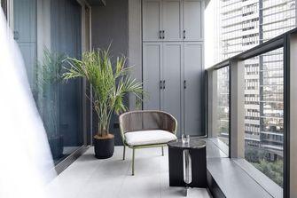 80平米公寓现代简约风格阳台设计图