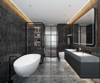 100平米现代简约风格卫生间装修案例