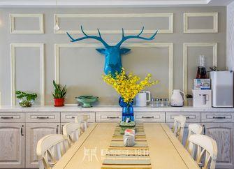 富裕型100平米三室两厅美式风格餐厅装修案例