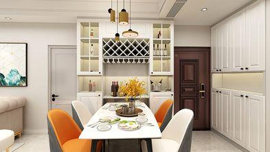 80平米三新古典风格餐厅设计图