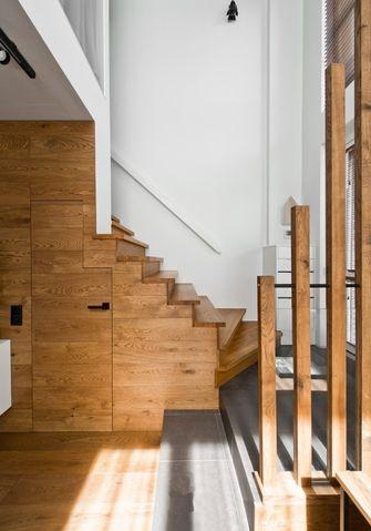 豪华型130平米三室一厅其他风格楼梯装修效果图