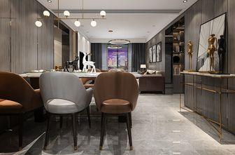 120平米三室一厅宜家风格餐厅图片大全