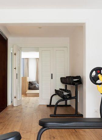 140平米复式日式风格健身室欣赏图
