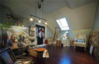 20万以上130平米三室两厅法式风格阁楼装修案例