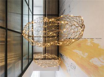 140平米复式日式风格楼梯间装修效果图