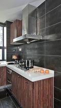 140平米三室四厅中式风格厨房欣赏图