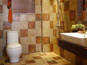 3-5万70平米公寓东南亚风格卫生间欣赏图