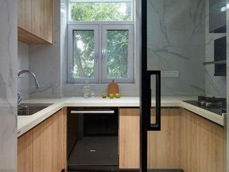 80平米三室两厅日式风格厨房装修案例