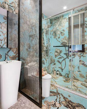 100平米三室两厅英伦风格卫生间装修案例
