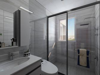 140平米三室一厅中式风格卫生间欣赏图