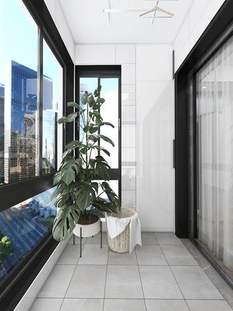 90平米现代简约风格阳台图片