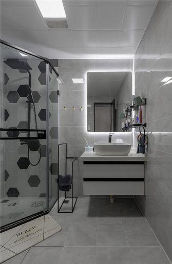 100平米三室两厅北欧风格卫生间欣赏图