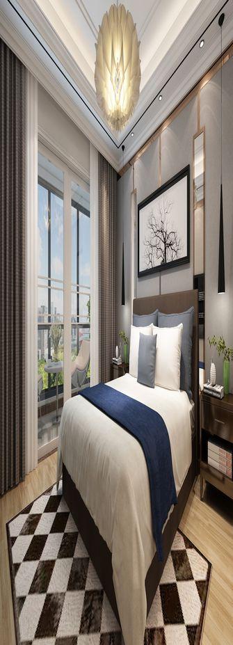 120平米三室三厅混搭风格卧室装修效果图