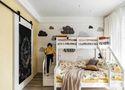 140平米混搭风格卧室效果图