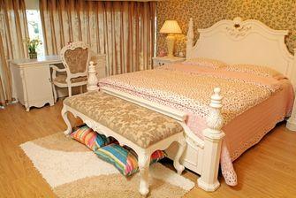 5-10万140平米三室三厅田园风格卧室欣赏图