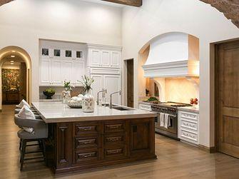 140平米别墅地中海风格厨房装修案例