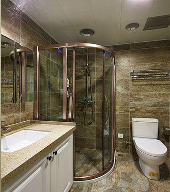 120平米美式风格卫生间浴室柜欣赏图