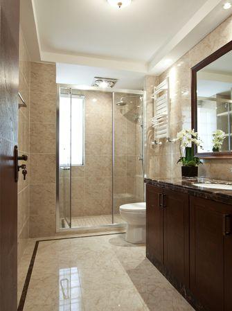 80平米中式风格卫生间装修案例